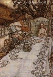 A Mad Tea Party - Arthur Rackham