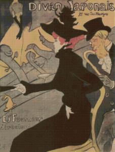 Divan Japonais - Henri Toulouse-Lautrec