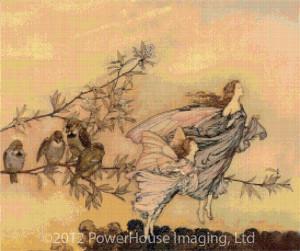 Fairy Tiffs - Arthur Rackham