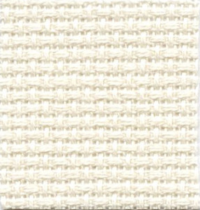 14 count ivory aida cloth